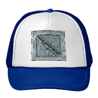 That's just Crate! - Blue Wood - Trucker Hat