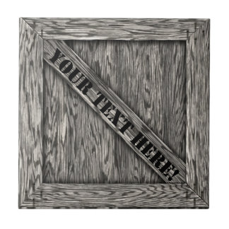 That's just Crate! - Driftwood - Ceramic Tile