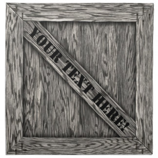 That's just Crate! - Driftwood - Cloth Napkin