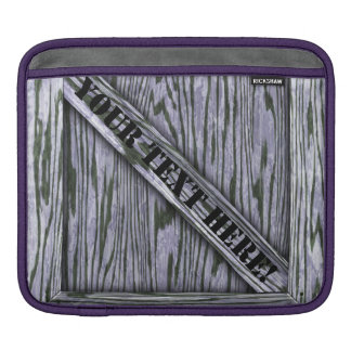 That's just Crate! - Lavender Wood - iPad Sleeve