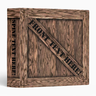 That's just Crate! - Oak Wood - Binder