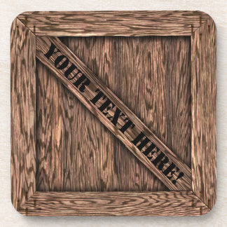 That's just Crate! - Oak Wood - Drink Coaster