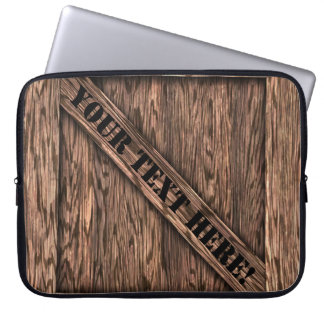 That's just Crate! - Oak Wood - Laptop Computer Sleeves