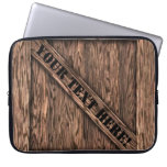 That's just Crate! - Oak Wood - Laptop Sleeve
