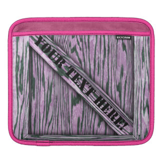 That's just Crate! - Pink Wood - iPad Sleeve