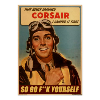 Thats my corsair! poster