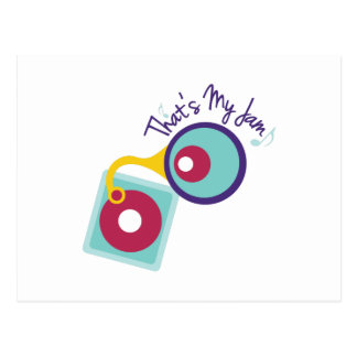 Thats My Jam Postcard
