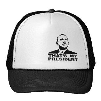 That's My President cap Trucker Hat