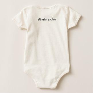 That's My Value Baby onsie Baby Bodysuit
