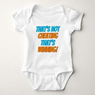 That's not Cheating, That's Winning! Baby Bodysuit