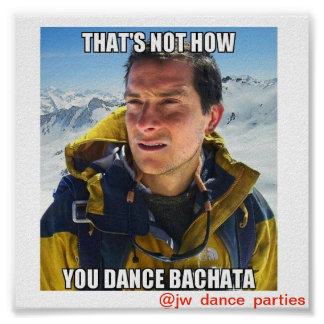 Thats not how you Dance Bachata Mini Poster
