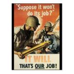 Thats Our Job World War 2 Postcard