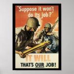 Thats Our Job World War 2 Poster