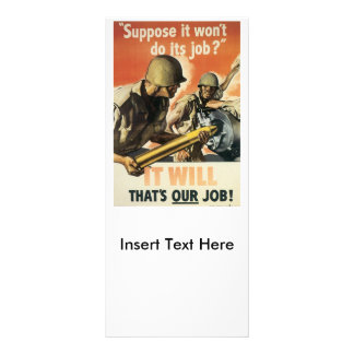 Thats Our Job World War 2 Full Color Rack Card