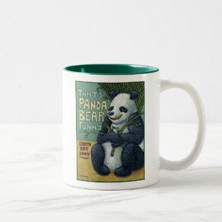 """That's Panda Bear Funny"" Earth Day 2009 Mug"