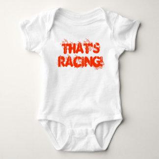That's Racing! Baby Bodysuit