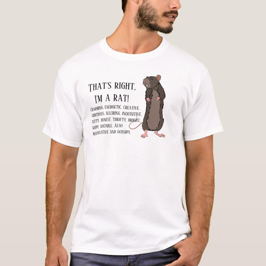 That's right, I'm a rat T-Shirt - Best Selling Long-Sleeve Street Fashion Shirt Designs