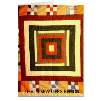 THAT'S SEW GEE'S BEND CARD