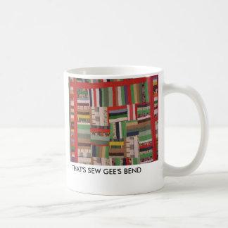 THAT'S SEW GEE'S BEND COFFEE MUG