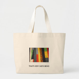 THAT'S SEW GEE'S BEND JUMBO TOTE BAG
