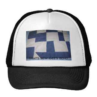 THAT'S SEW GEE'S BEND MESH HATS