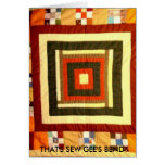 THAT'S SEW GEE'S BEND STATIONERY NOTE CARD