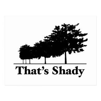 That's Shady Postcard