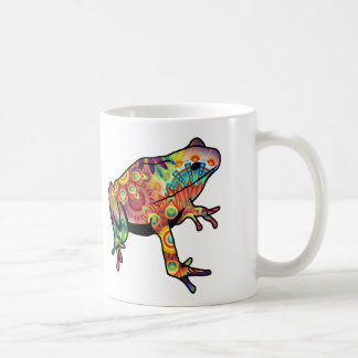 That's Some Funky Coffee Psychedelic Frog Mug