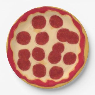 That's Some Pizza. Pizza Party Paper Plate