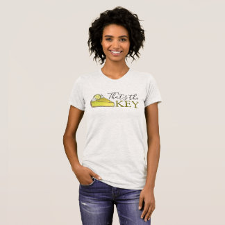That's the KEY Florida Keys Lime Pie Slice Foodie T-Shirt