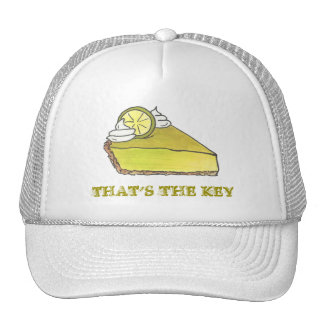 That's the Key Green Lime Pie Keylime Slice Hat
