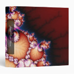 Thats The Point - Fractal Art 3 Ring Binder