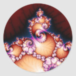 Thats The Point - Fractal Art Classic Round Sticker