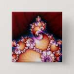 Thats The Point - Fractal Art Pinback Button
