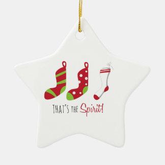 Thats The Spirit Christmas Ornament