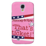 That's the ticket! Romney & Ryan Galaxy S4 Covers