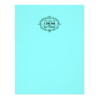 That's What I Do Letterhead