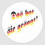 That's what she said! (German) Stickers