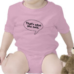 That's What She Said Talk Bubble T shirts