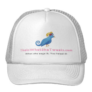 That's What She Tweets - Trucker Hat - White