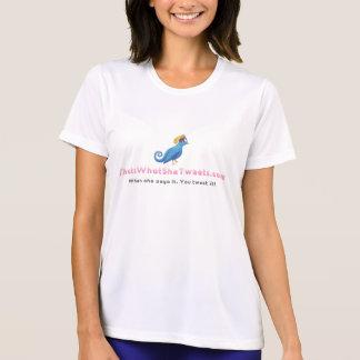 That'sWhatSheTweets.com - Ladies Performance Micro T-Shirt