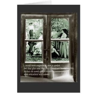 Thawed Memories Card