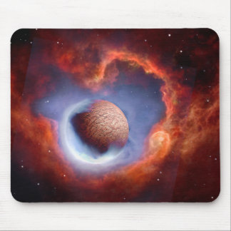 Thawing of an Ice Planet Mouse Pad