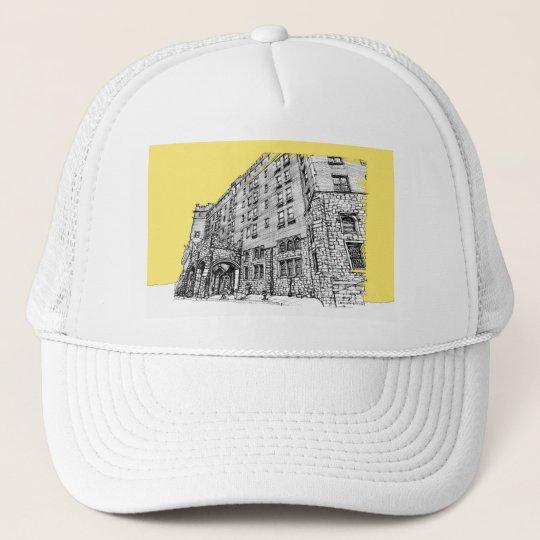 Thaye Hotel in yellow Trucker Hat