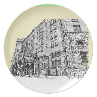 Thayer Hotel cream ivory Dinner Plate