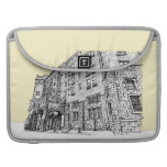 Thayer Hotel cream ivory Sleeves For MacBook Pro