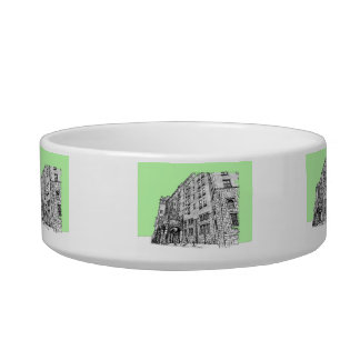 Thayer Hotel lime green Bowl