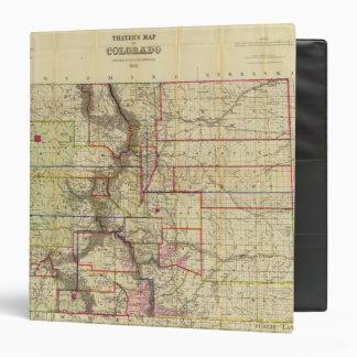 Thayer's map of Colorado 2 Binder