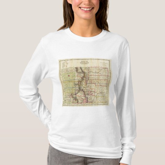 Thayer's map of Colorado 2 T-Shirt