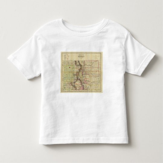 Thayer's map of Colorado 2 Toddler T-shirt